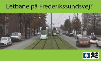 Letbane på Frederikssundsvej : Brønshøj-Husum lokaludvalg